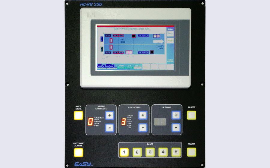 EASYsa - Control panels for road and tunnel infrastructures