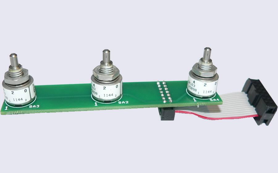 EASYsa - Gray coded rotary selector with DIN 41651 connector