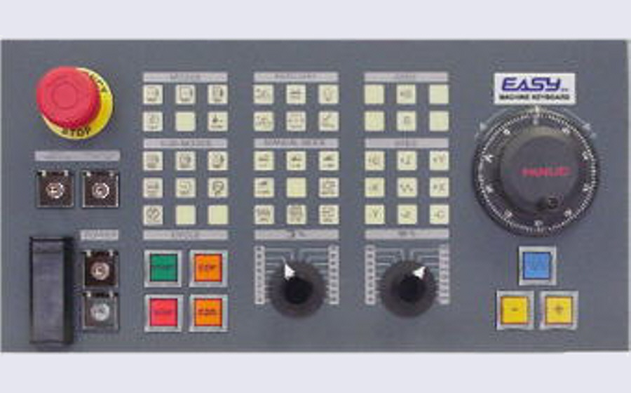 EASYsa - MC-KB400W: customizable operator panel for machines-tools
