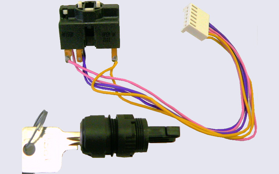 EASYsa - Key switch with Molex connector