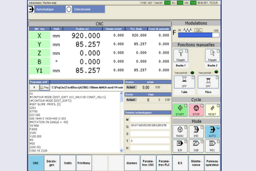 EASYsa - HMI for CNC engineering