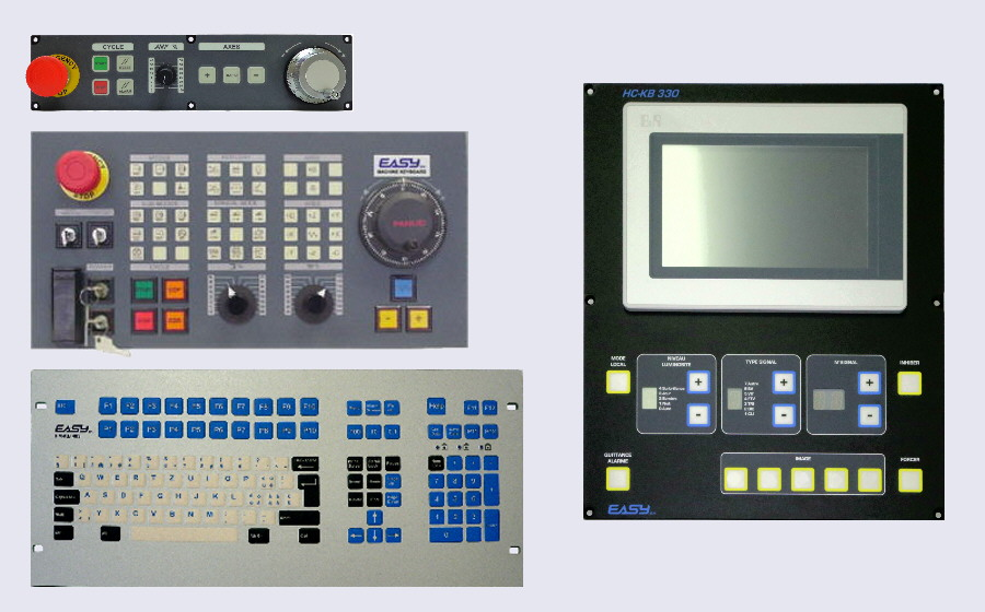 EASYsa - Overview of Control Panels